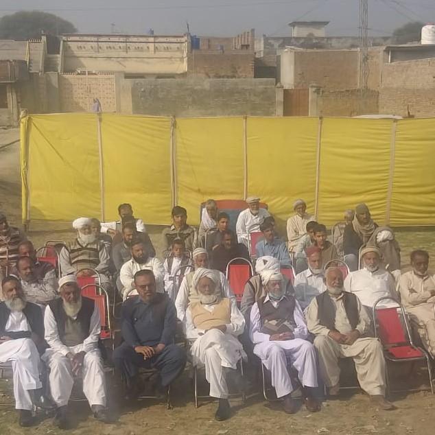Zilah Chakwal ke ilaqa کھوکھرزیر mein aik roza free medical camp - 4