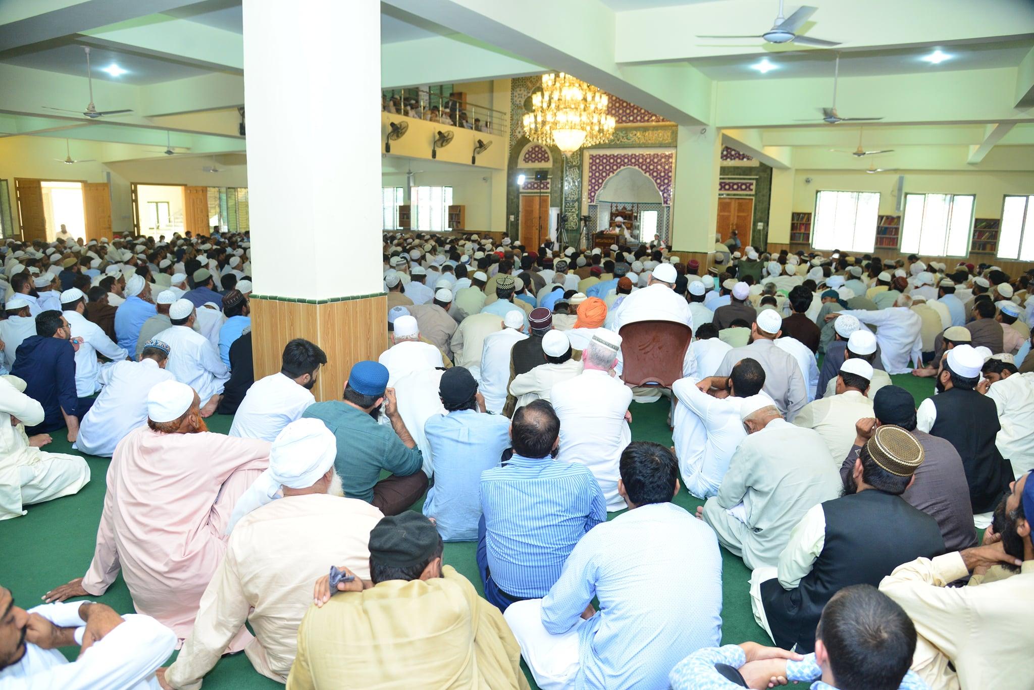 Jalsa Baisat Rehmat-e-Alam SAW, Dar ul Irfan Munara - 4