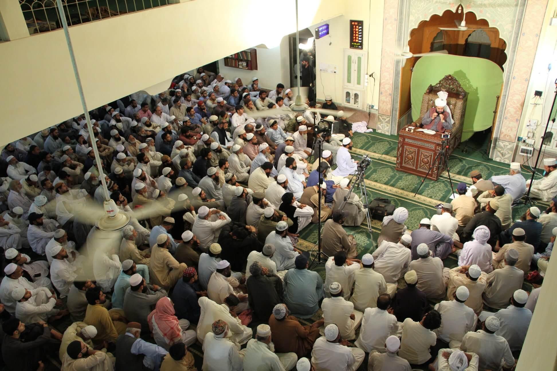 Markazi Monthly Ijtima at Dar-ul-Irfan Munara, Chakwal ! - 3