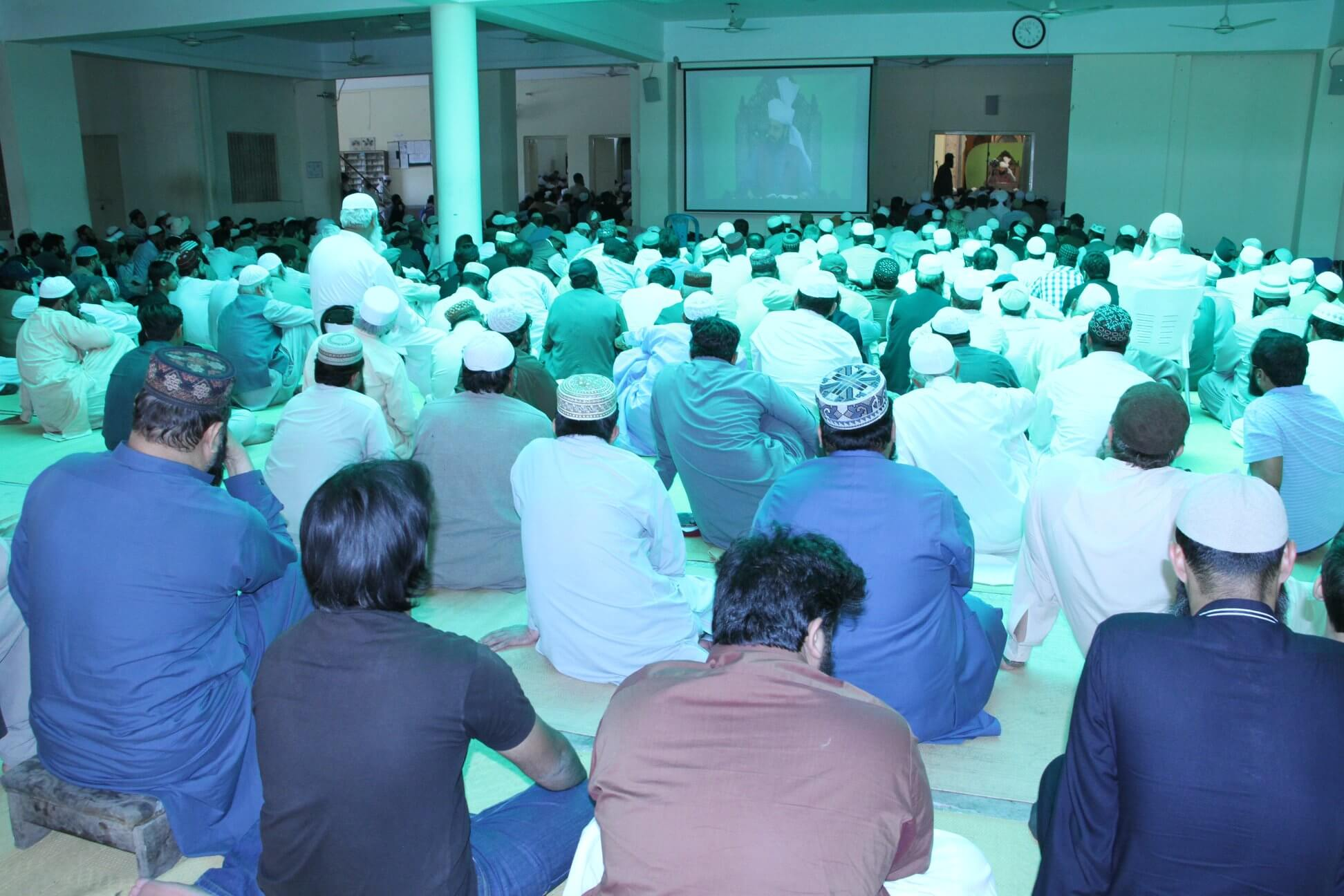 Markazi Monthly Ijtima at Dar-ul-Irfan Munara, Chakwal ! - 4