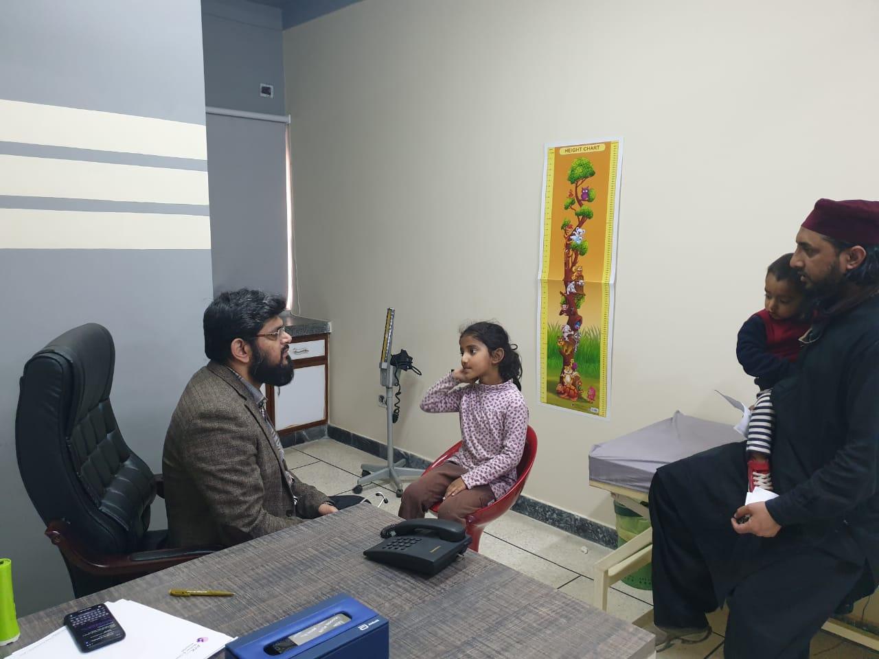 Free Medical Camp Al Falah Foundation Pakistan (Allah Yaar Khan Hospital Lahore) - 3