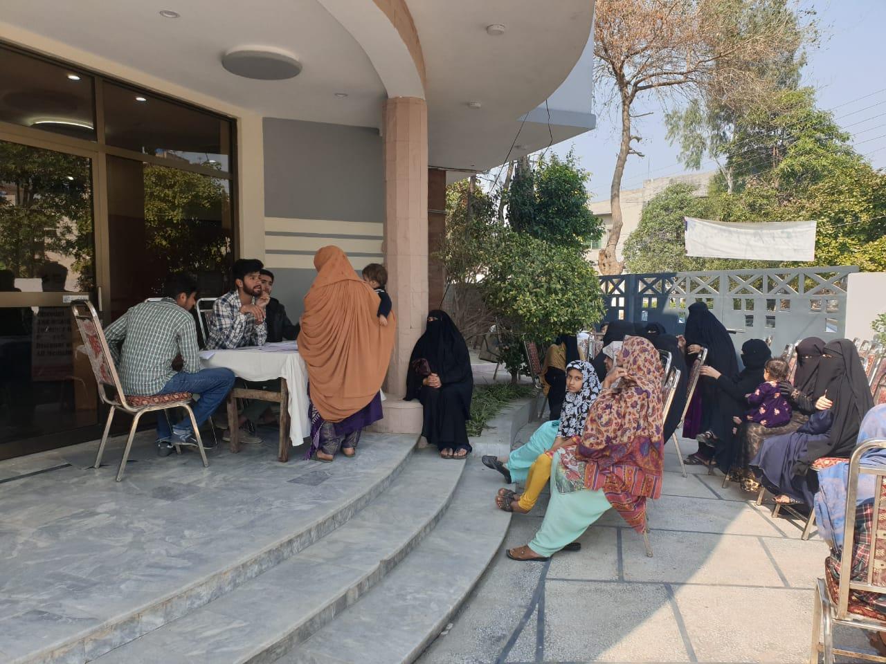 Free Medical Camp Al Falah Foundation Pakistan (Allah Yaar Khan Hospital Lahore) - 2