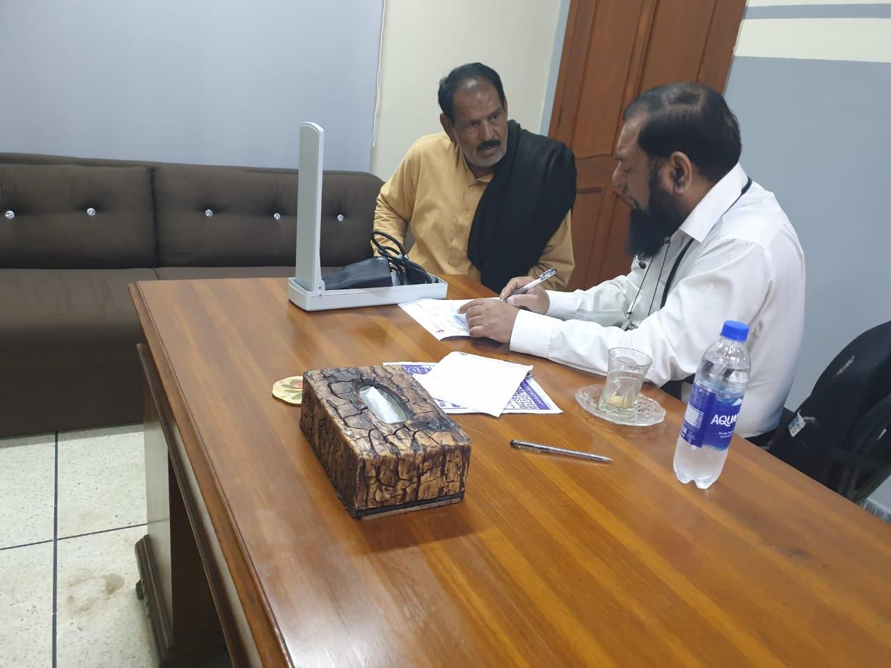 Free Medical Camp Al Falah Foundation Pakistan (Allah Yaar Khan Hospital Lahore) - 5